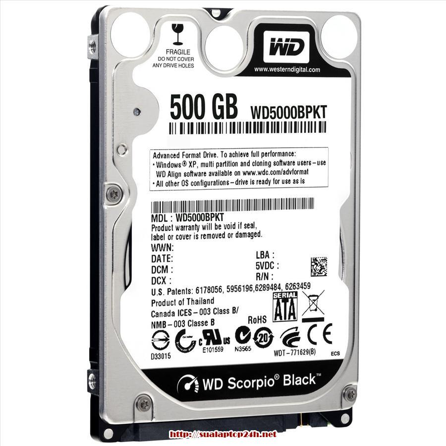 HDD Laptop - Ổ cứng Laptop SATA 500 GB